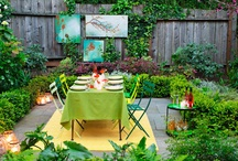Outdoor dining / by Julianne Weight