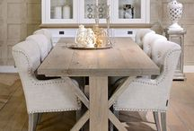 Dining Room (Rustic / Shabby Chic / White Washed)