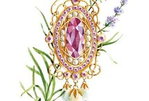 Jewels colouring