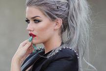 granny grey hair