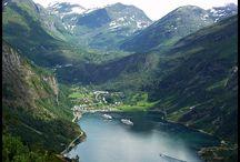 Noorse fjorden.