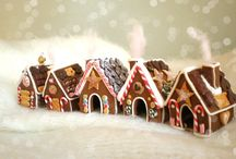 Ginger Bread Houses / by Betty Clark