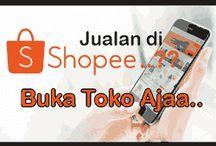 Cara Buka Toko Online di Shopee Lewat HP untuk Jualan Barang