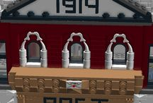 LEGO post office