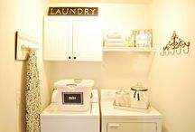 Laundry Room Ideas / by Courtney Cloe