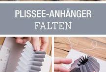 Papier Faltung