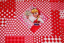 Stofjes / Leuke nieuwe stofjes uit de collectie van Karteris stoffen. Kijk voor meer nieuwe stoffen op www.karteris.nl