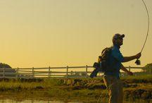 Fishing and yak