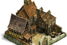 Game building inspiration / Building, layout, medieval, scatch