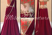 sarie gown