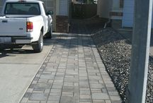 Patio and paths