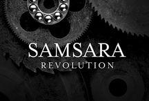 Samsara Revolution / Nisipuri perlate. Finisaj inovator pe baza de apa cu un efect magnific de metal sablat, usor de aplicat si potrivit pentru a infrumuseta vile de lux, apartamente prestigioase, restaurante, hoteluri etc.