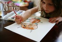 children's art / by Rebecca - Simple as That Blog