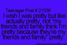 Teenager posts :D