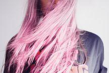 Pelo pastel ☆ / Pelos de colores. Moda en la cabeza