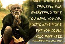 ❤ Gratitude Quotes ❤