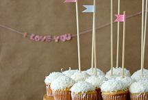 coconut cupcake loveliness / by Mrs. Deane