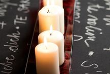 velas e frascos