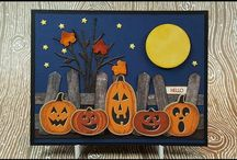 Stampin' Up! Pick a Pumpkin Halloween Card