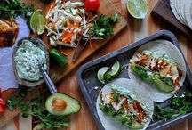 Taco Time (Recipes) / Tacos of every shape and size