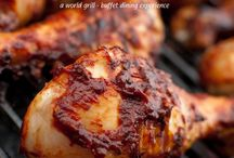 Grilled Food / Tickle your taste buds with awesome grilled delicacies. :)