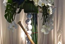 Bat Mitzvah Flowers / We love themed events!