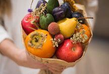 Fruits bouqets