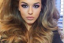 hår maskerade show