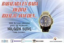 Babalar günü armağanımız saati kazanan talihli isim.. / 100 katılımcı arasından seçilen talihli isim Nilgün Sude,, Tebrikler, güle güle kullanın..