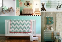 Coral, Mint and Gray Nursery
