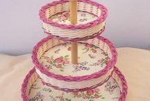 фруктовницы плетем