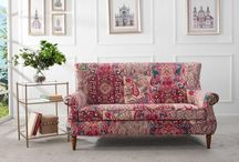 This beautiful Kantha Settee would seriously look perfect in any home <3