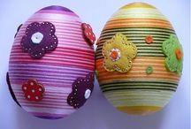 πασχαλινά αυγά με ποντικοουρά