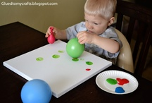 Toddler Crafts / by Kezia Belfield