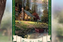 Thomas Kinkade Father's Day Gifts / Father's Day Gifts featuring the beautiful art of Thomas Kinkade