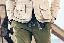 Safari jacket stylizacje