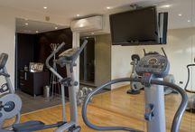 Le Fitness Center de l'Hôtel Le Gray d'Albion Cannes