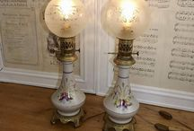 french oil lamps