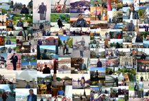 Henry Leong's world travels / Photos of Henry Leong travelling around the world in collage