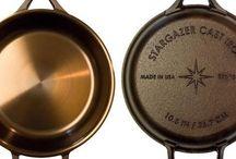 Cast iron casseroles