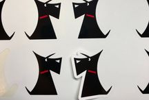Scottie Dog stickers & Decals