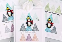My card making: Repeat Stamping