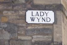 Edinburgh Street Signs