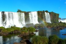 Iguazu Falls, Argentina and Brazil / The collection of best travel guides and travel tips to inspire you to visit the majestic Iguazu Falls in both Argentina and Brazil.   Let your wanderlust take you on an adventure around the world with Travel To Blank.  Travel Couple, Travel Guide, Luxury Travel, Walking Guide, Traveling Tips, Packing list, Wanderlust, Wonderlust, Travel Inspiration