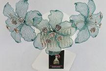 Tocados de flores www.tocadosmama.com