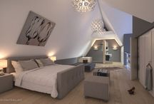 bedrooms / by nellie stal