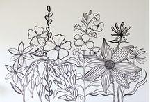 Wall draw.