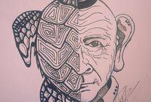 ilustracion y expresion / expresiones artisticas con mensaje consciente