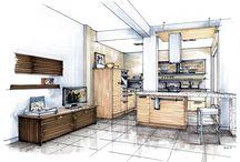 room design using copic