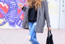 Winter Fashion 2015 / My favorite fashion looks for winter 2015, especially ones that are boho, urban, chic and simple.